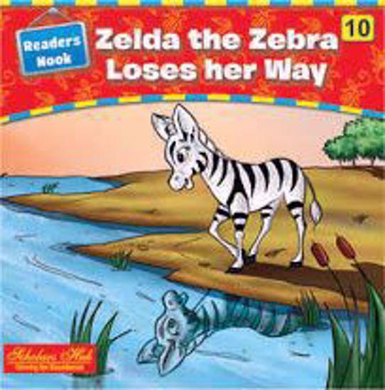 Zealda The Zebra Loses Her way