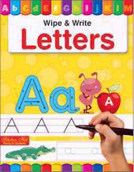 Letters Wipe & Write Book