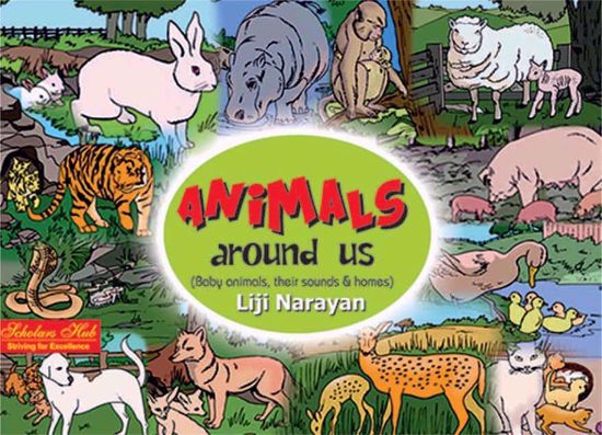 Animals Around Us Book