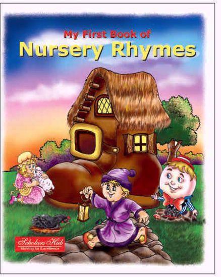 My First Book Of Nursery Rhymes Book