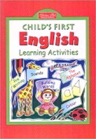 Childs First English Learning Activities Book