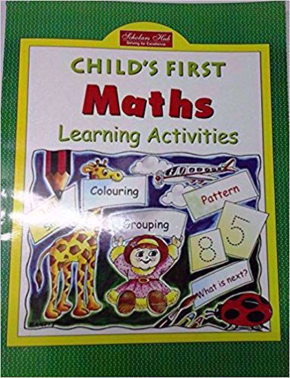 Childs First Maths Learning Activities Book