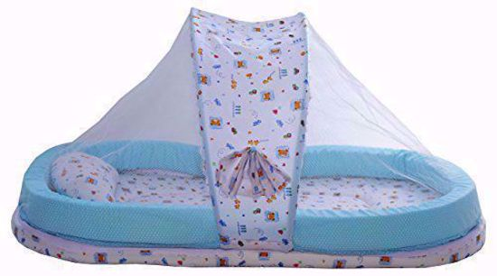 Mattress with Mosquito Net Blue Chunmun