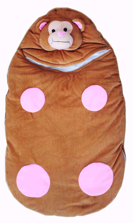 Baby Kids Sleeping Bag Brown