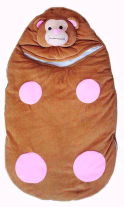 Baby Kids Sleeping Bag Brown
