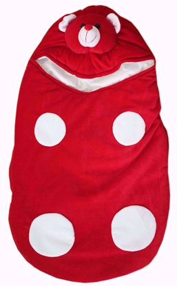 Baby Kids Sleeping Bag Red
