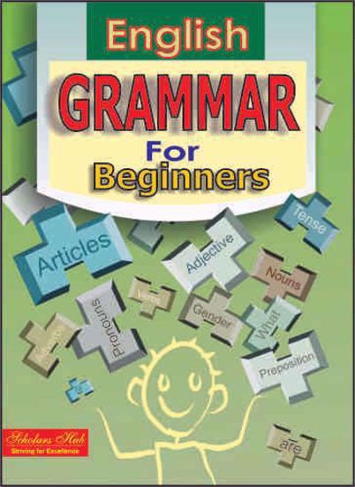 English Grammar For Beginners Book