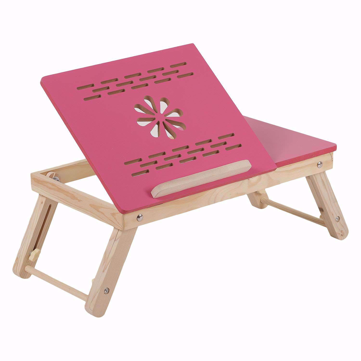Baby Laptop Table Flower pink