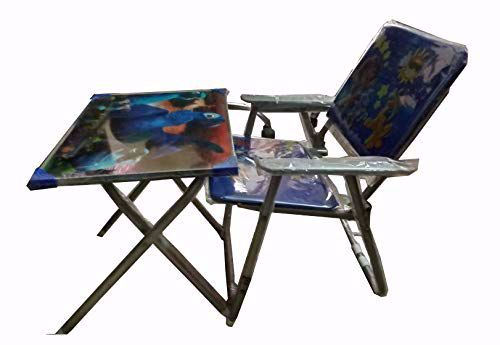 Picture of kids Metal  Study Table Chair -Red