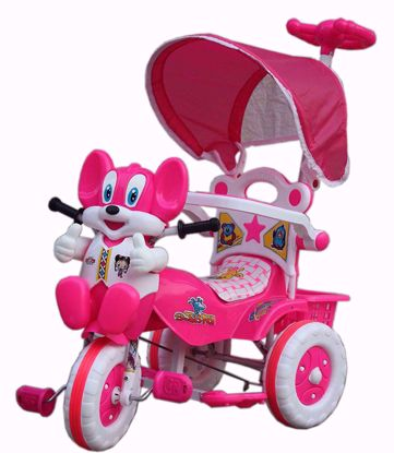 Picture of Parental Tricycle-Pink