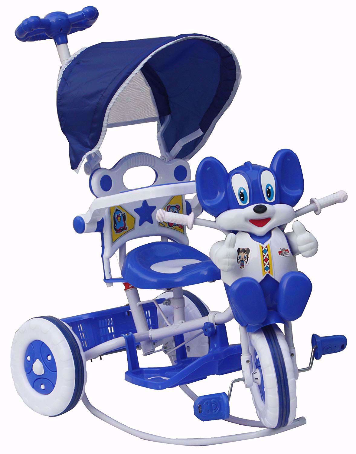 Tricycle Rocking Blue