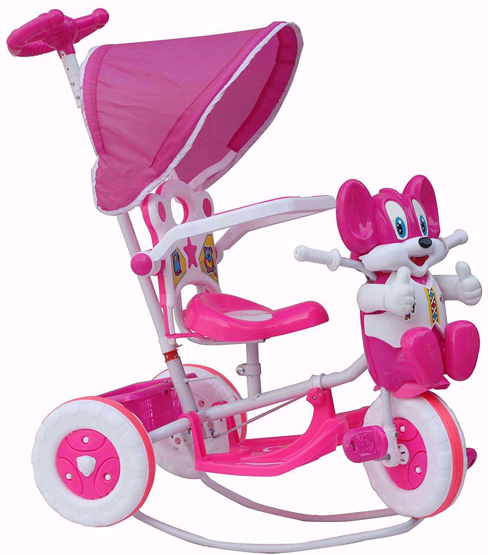 Tricycle Rocking pink