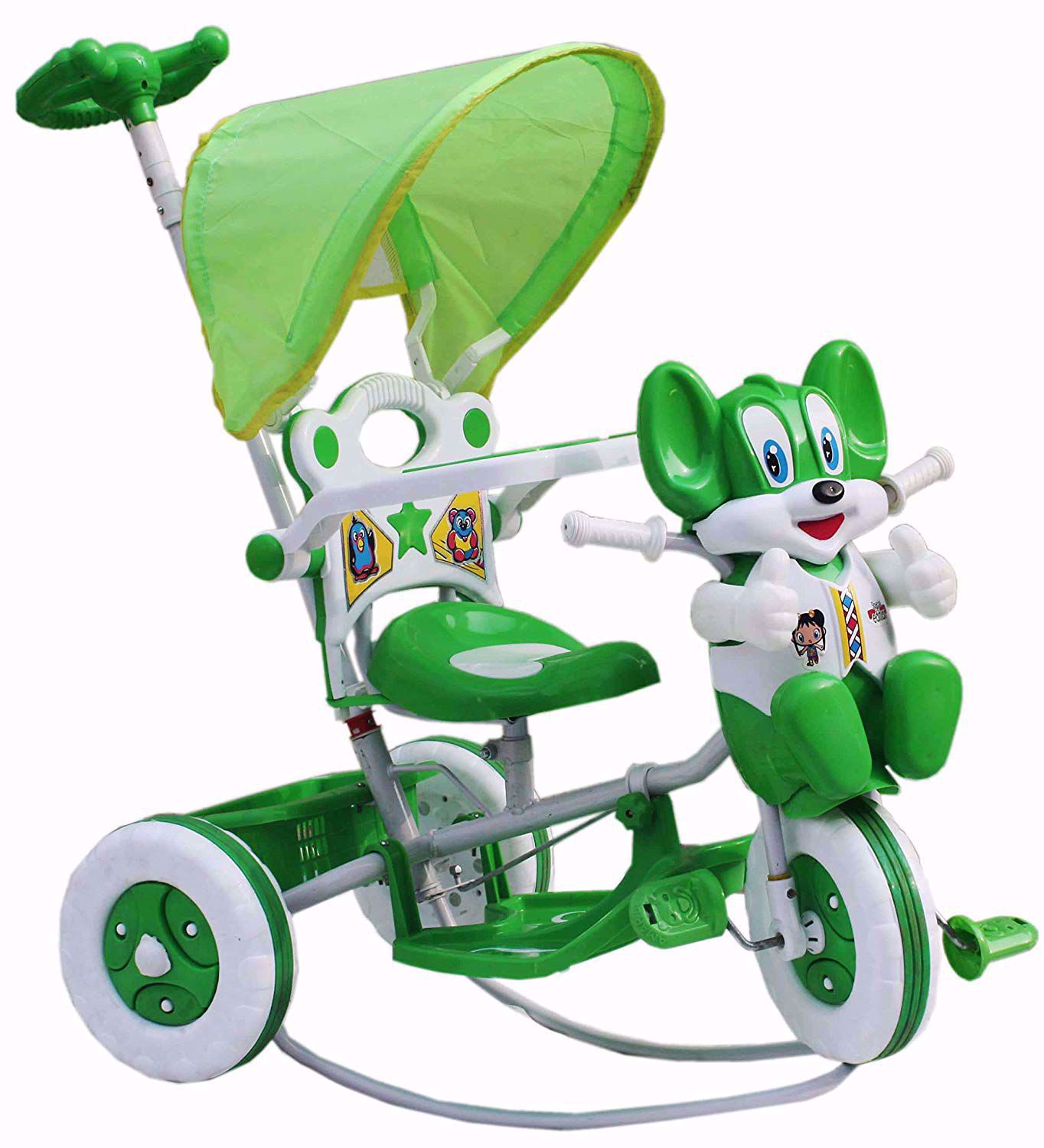 Tricycle Rocking Green