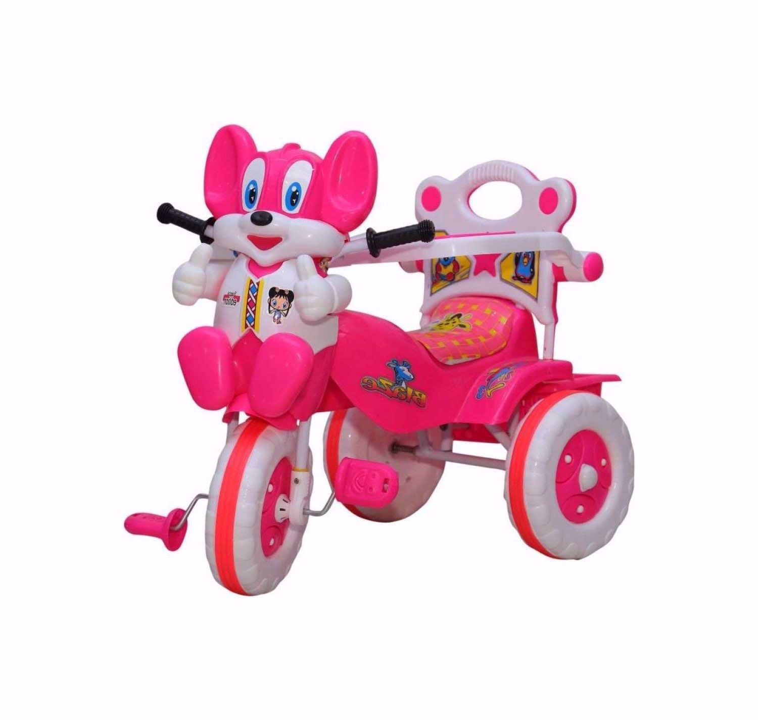 Baby Tricycle Without Parent Control  Pink