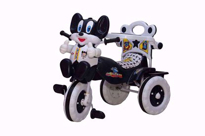Baby Tricycle Without Parent Control Navy Blue