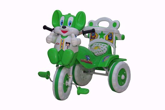 Baby Tricycle Without Parent Control  Green