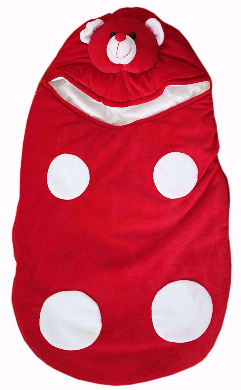 Baby Kids Sleeping Bag  Red