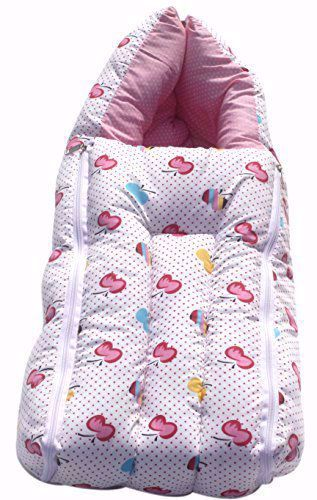 Baby Carry Bag Apple Pink