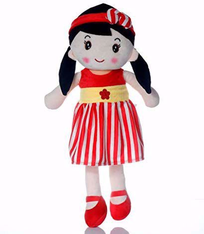 Picture of Rag Doll  80 cm- Red