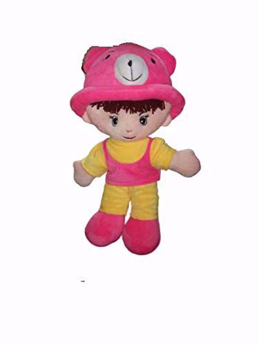Picture of Adi Boy Soft Toy Yellow-Pink