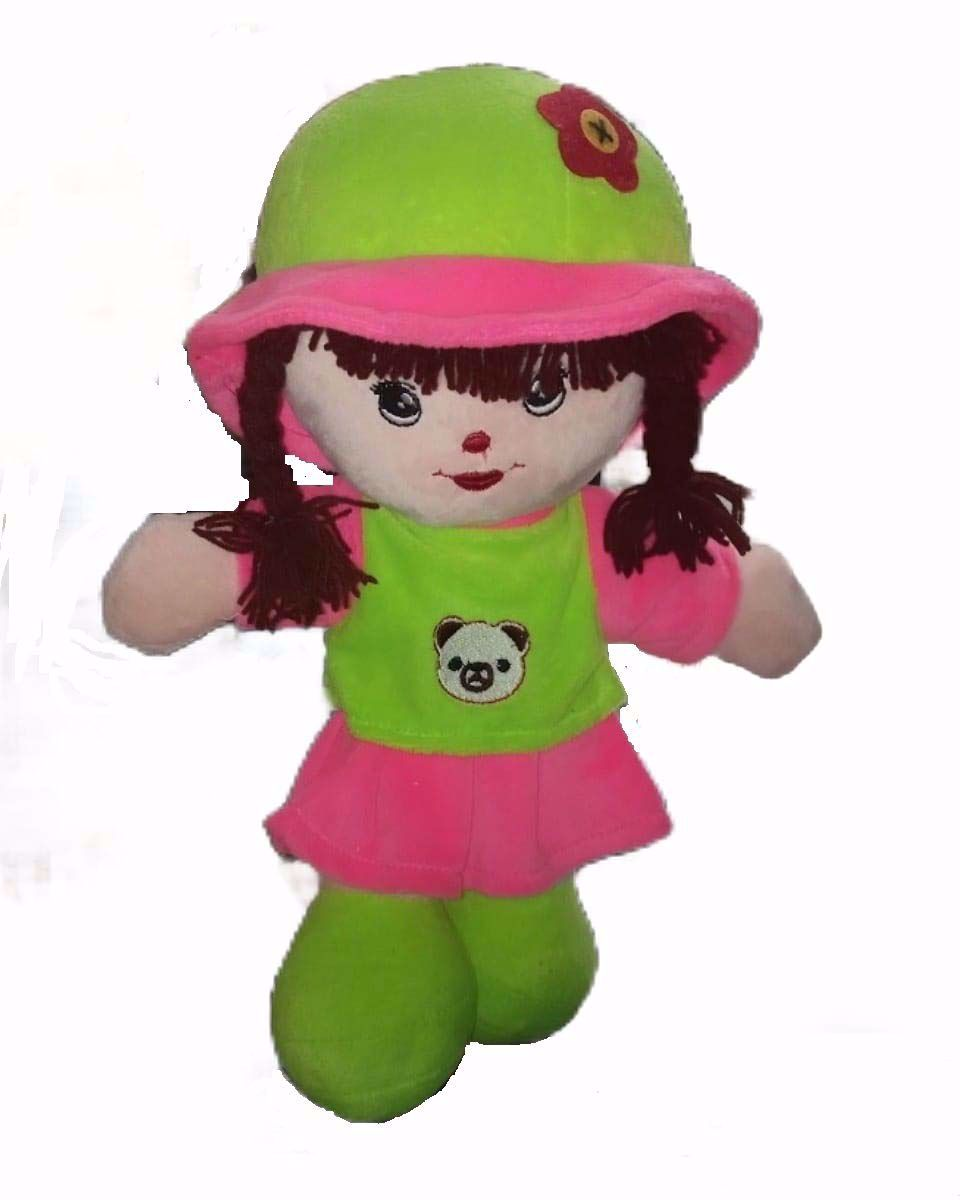 Picture of Adi Girl Soft Toy Pink-Green