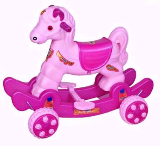 Baby Horse Rider Pink & Purple