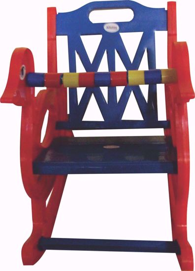 Baby Rocking Chair Red