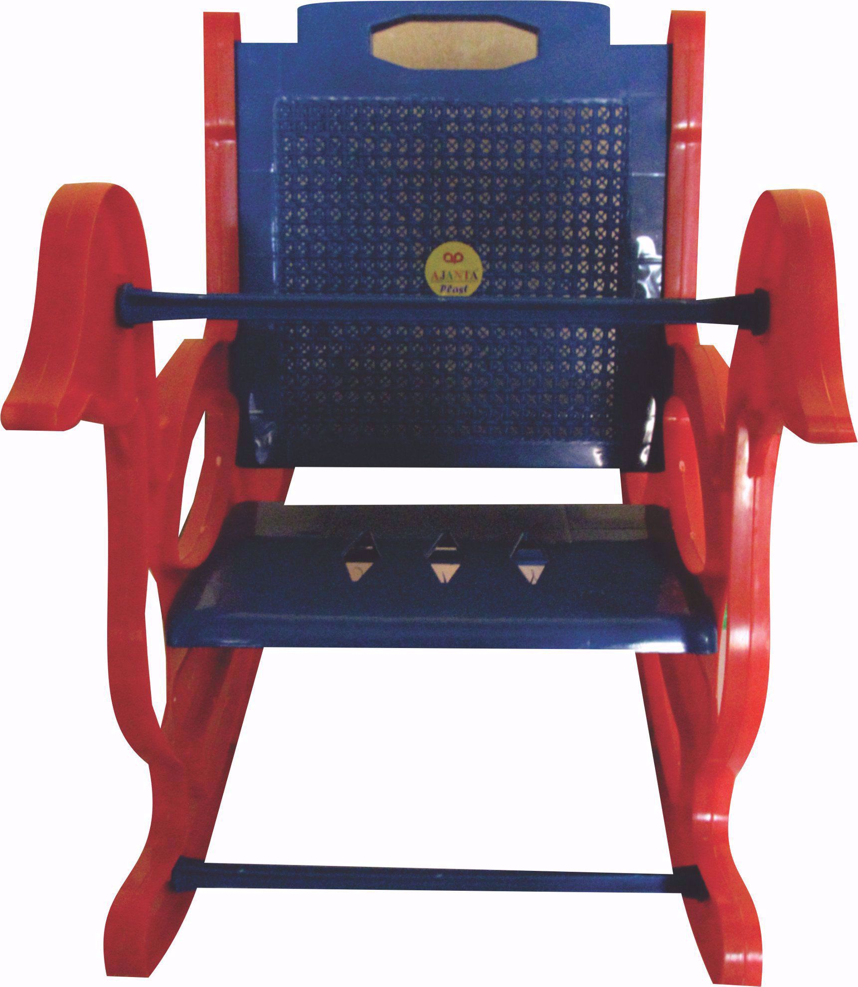 Baby Rocking Chair Red & Blue