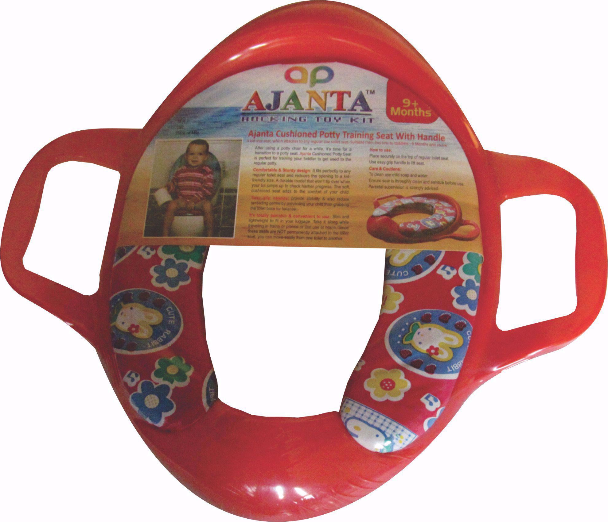 Baby Potty Trainer Red