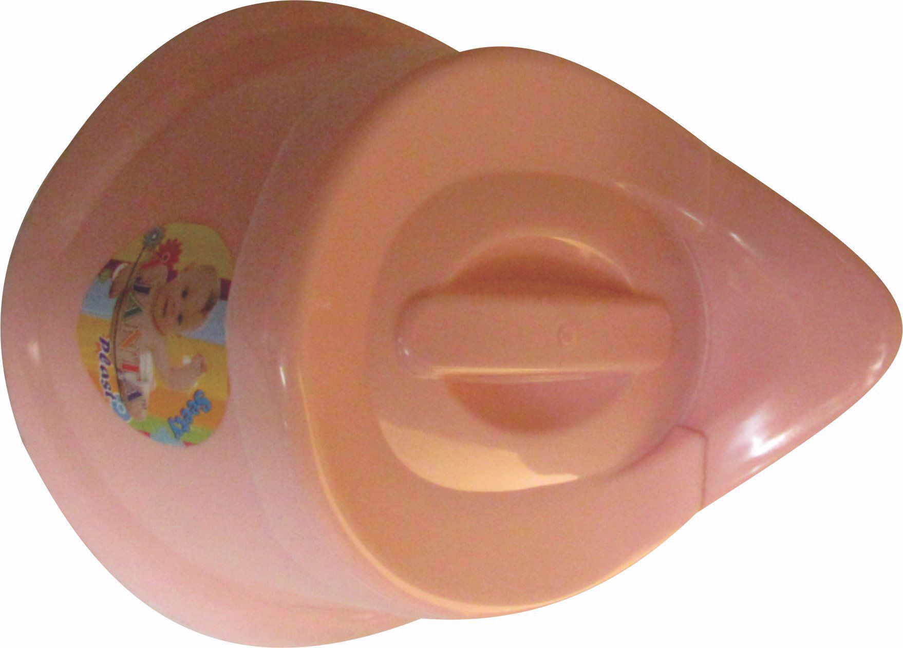 Baby Potty Seat Oval -peach, baby potty seat online