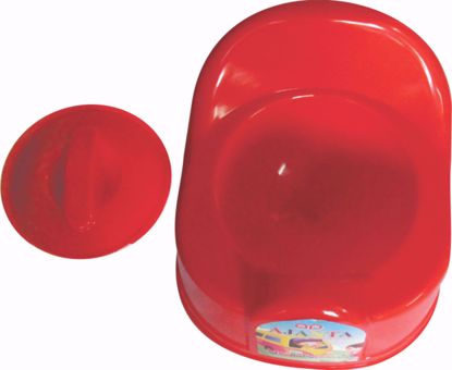 Baby Potty Seat Round red , baby chair potty seat online