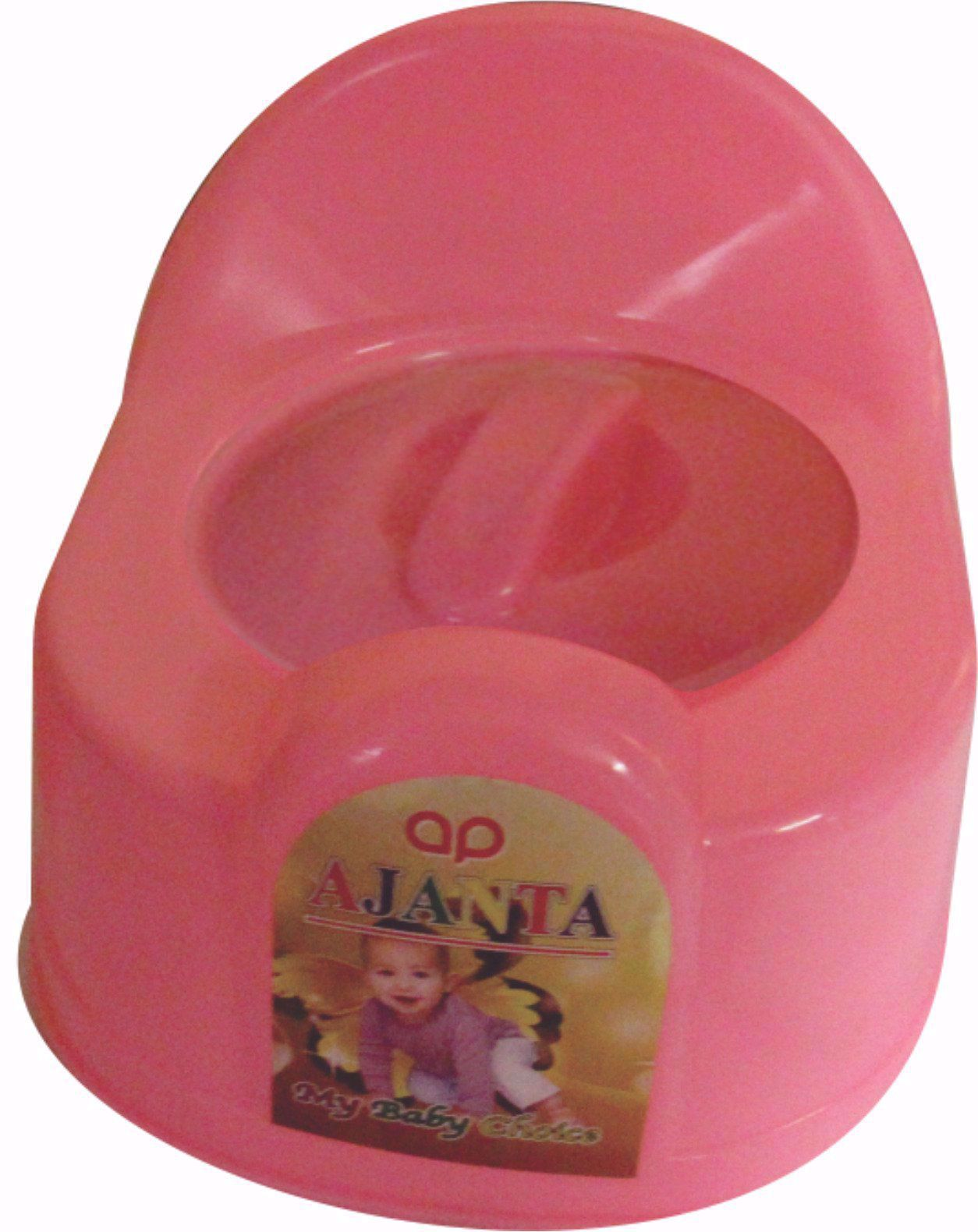 Baby Potty Seat Round Pink Baby Chair Potty Seat