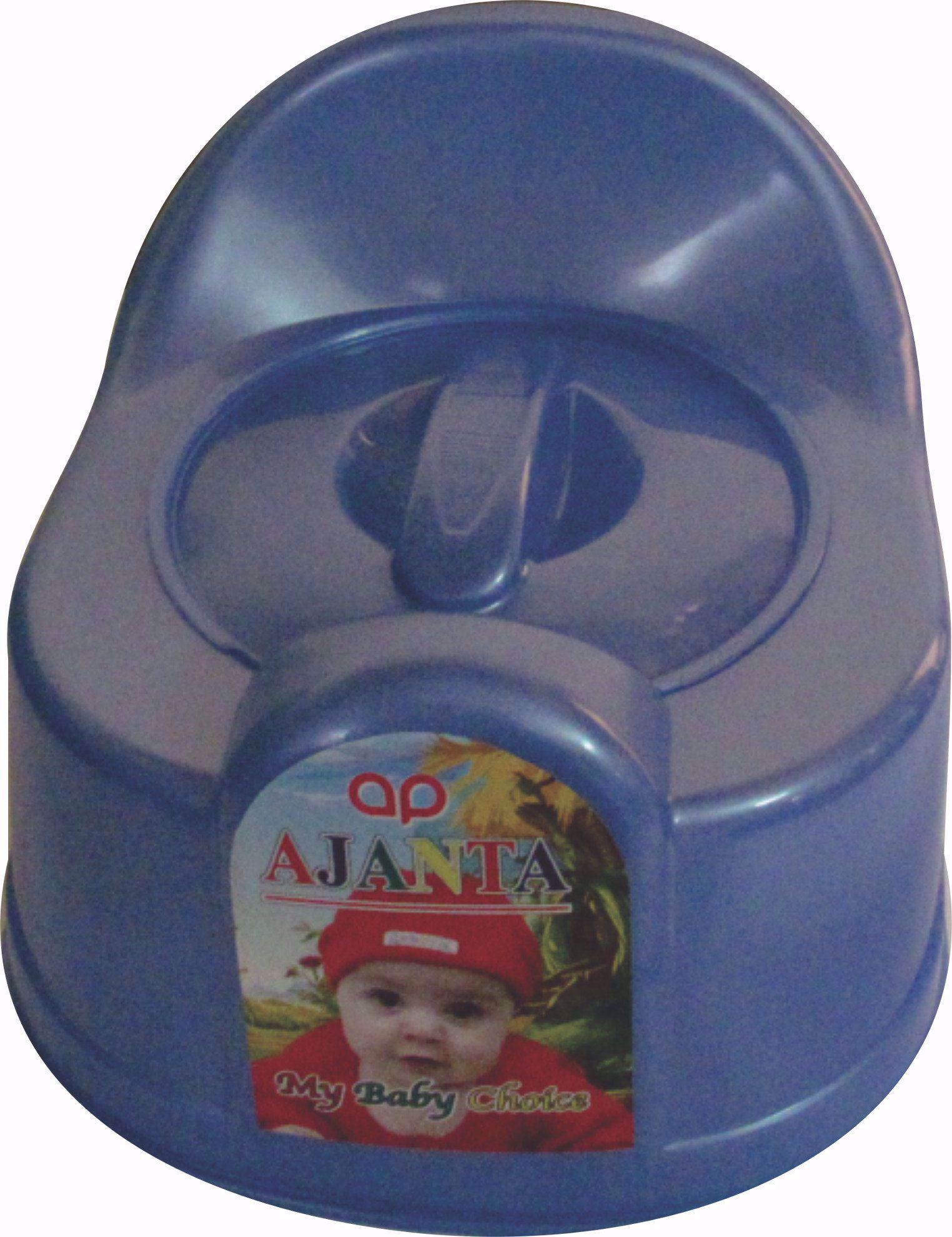 Baby Potty Seat Round Blue Baby Chair Potty Seat