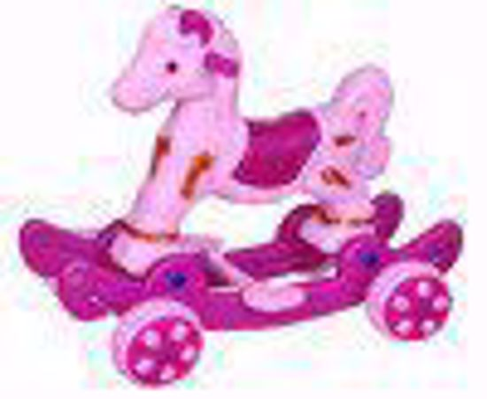 Baby Horse Rider - pink and purple