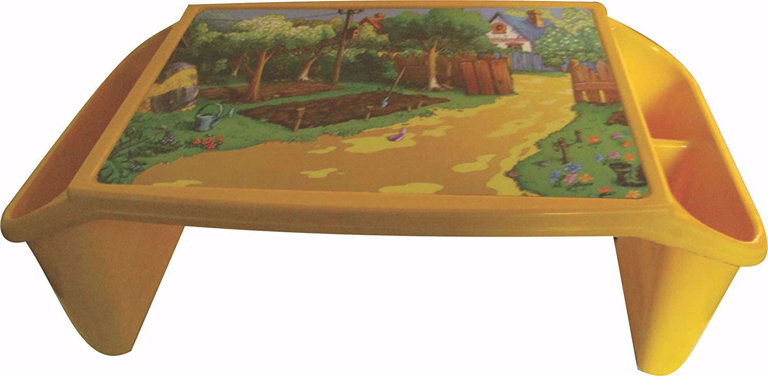 Kids Plastic Bed Table - Yellow,plastic bed table onine