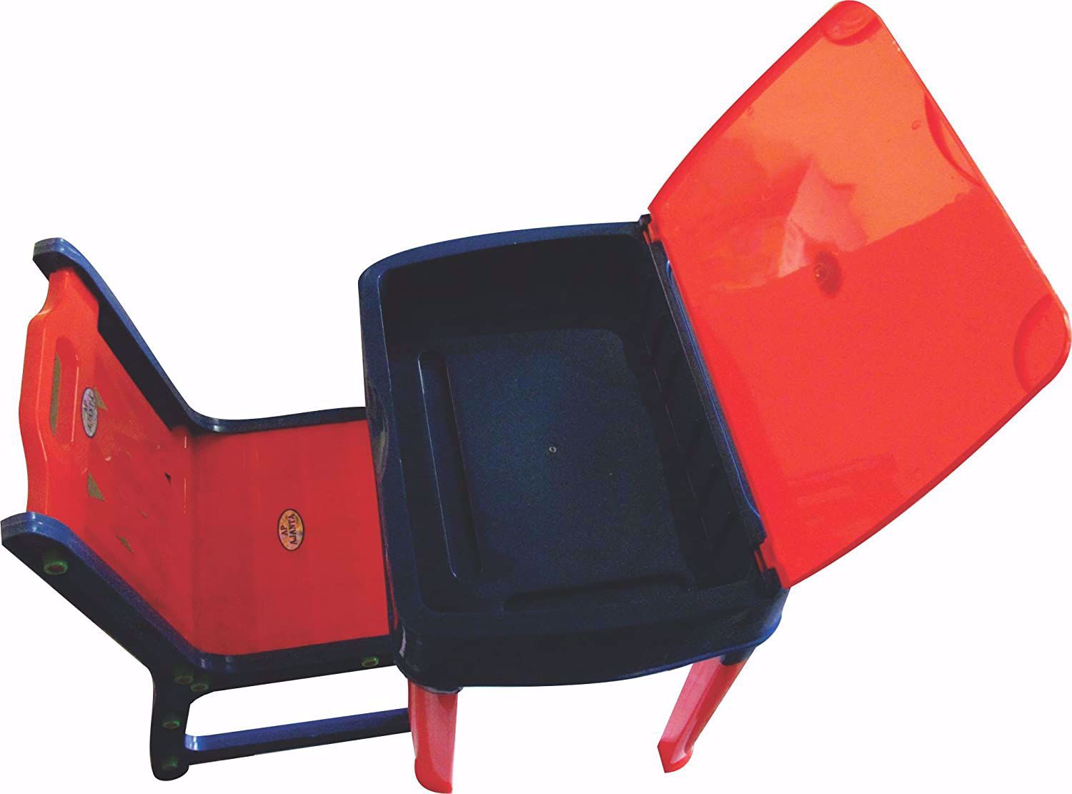 Kids Plastic Study Table - Red & Blue, study table online