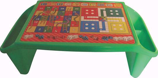 Picture of Kids Plastic Bed Table - Red