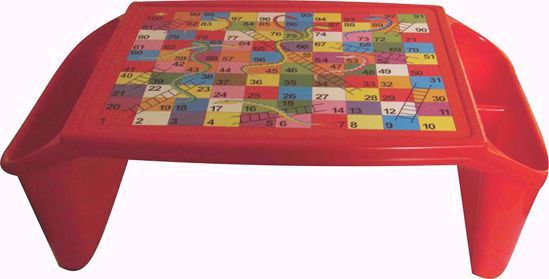 Kids Plastic Bed Table - Red , plastic bed table online