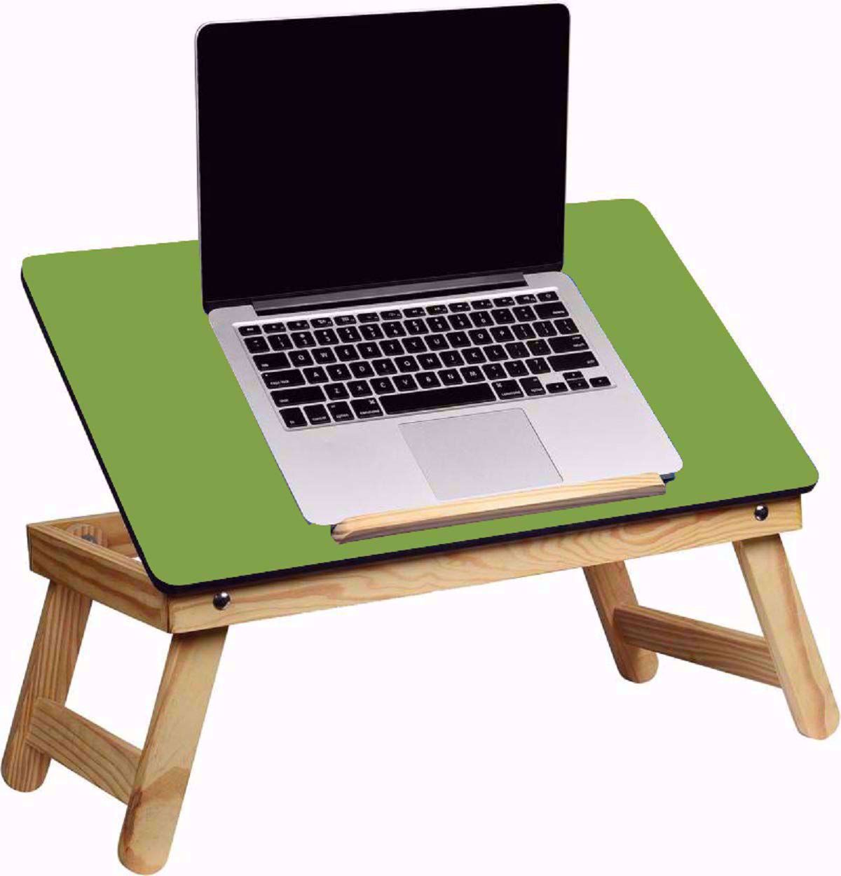 Laptop Desk Bed Student Study Meal Table -Green