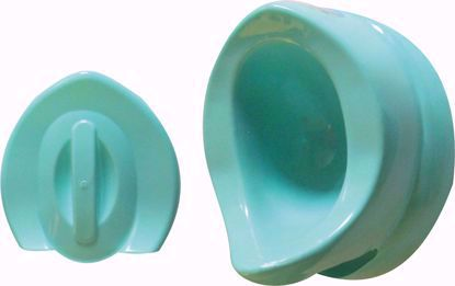 Baby Potty Seat Oval-Green