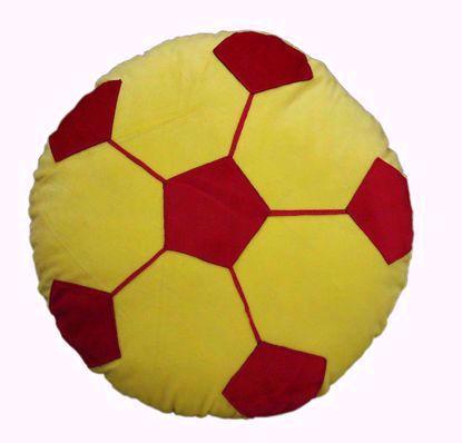 football-pillow-yellow