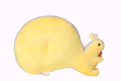 Squirrel-Pillow- Yellow
