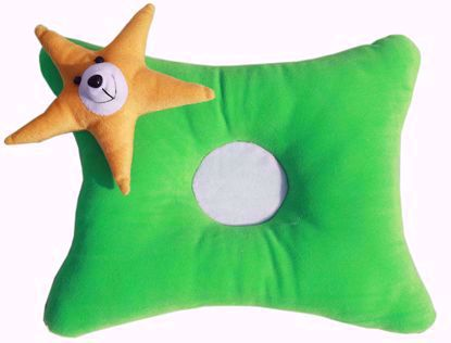 Star Pillow  Green