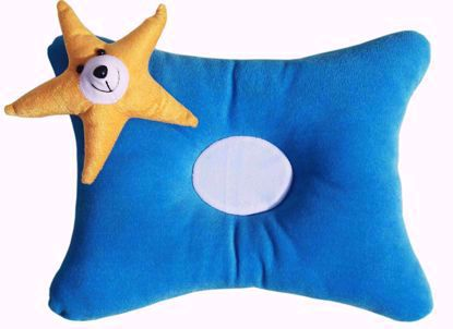 Star Pillow  Blue