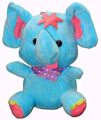 Flora Elephant - Blue