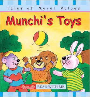 Munchis -toys-story-book