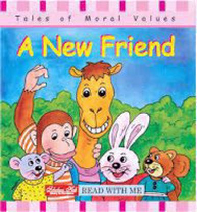 A new friend story book
