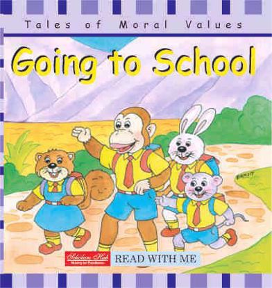 Going to school story book