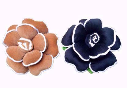flower-pillow-brown-black