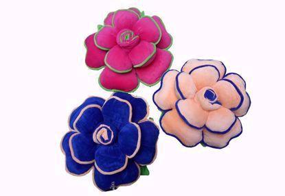 pillow-set-of-3, Pink,Blue, Cream